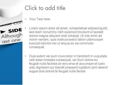 Side Effects PowerPoint Template, Slide 3, 11677, Medical — PoweredTemplate.com