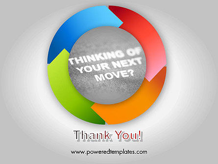 Thinking of Your Next Move PowerPoint Template Slide 20
