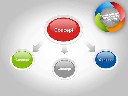 Thinking of Your Next Move PowerPoint Template, Slide 4, 11679, Business Concepts — PoweredTemplate.com