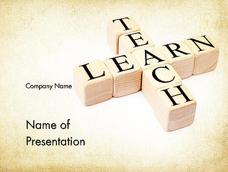Education & Training: Teach and Learn PowerPoint Template #11680