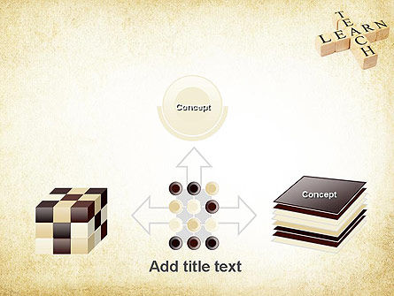 Teach and Learn PowerPoint Template Slide 19