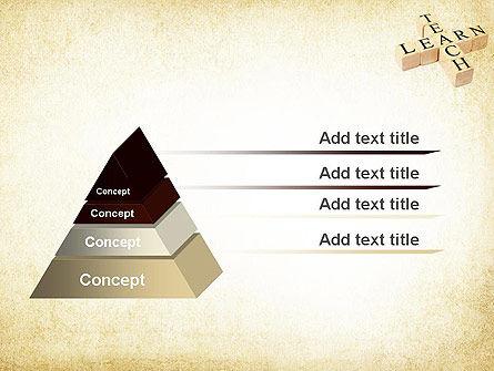 Teach and Learn PowerPoint Template, Slide 4, 11680, Education & Training — PoweredTemplate.com