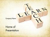 Education & Training: Teach and Learn PowerPoint Template #11680