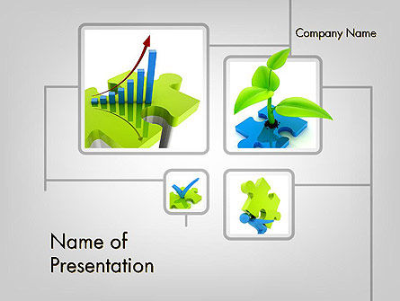 Startup Development PowerPoint Template, 11682, Business Concepts — PoweredTemplate.com