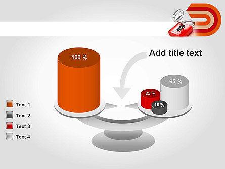 Red Lock PowerPoint Template Slide 10