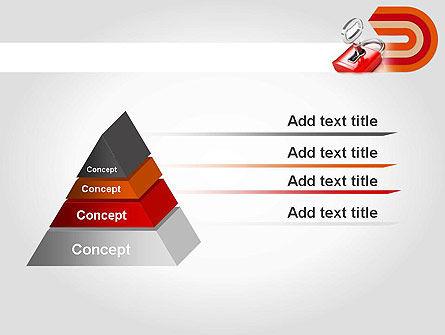 Red Lock PowerPoint Template Slide 12