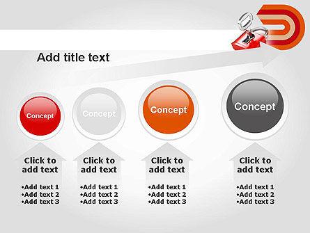 Red Lock PowerPoint Template Slide 13
