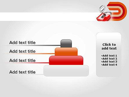 Red Lock PowerPoint Template Slide 8