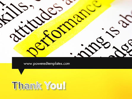 Performance Definition PowerPoint Template Slide 20