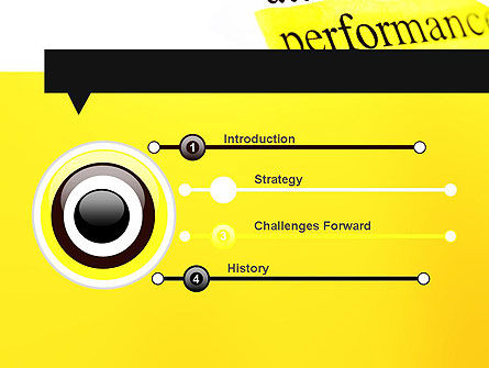 Performance Definition PowerPoint Template, Slide 3, 11685, Business Concepts — PoweredTemplate.com