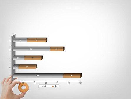 Mini Doughnut PowerPoint Template Slide 11