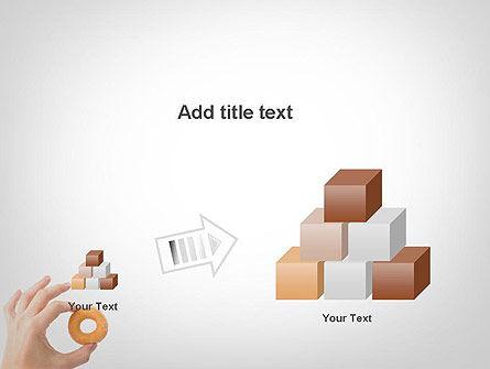 Mini Doughnut PowerPoint Template Slide 13