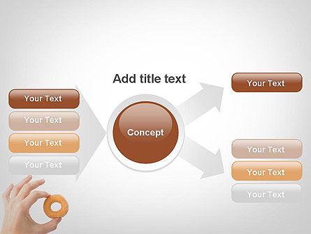 Mini Doughnut PowerPoint Template Slide 15