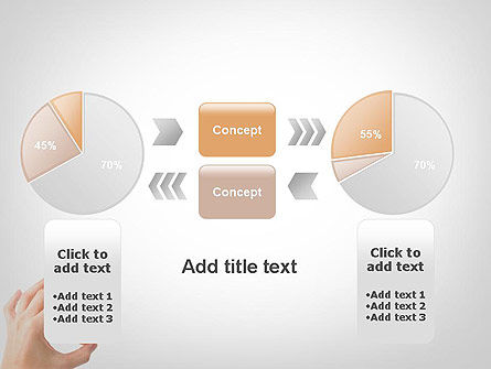 Mini Doughnut PowerPoint Template Slide 16