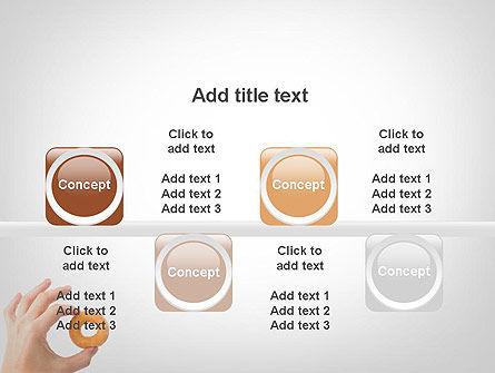 Mini Doughnut PowerPoint Template Slide 18