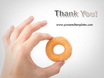 Mini Doughnut PowerPoint Template Slide 20