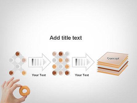 Mini Doughnut PowerPoint Template Slide 9
