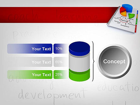 Training Plan with Pie Chart PowerPoint Template Slide 11