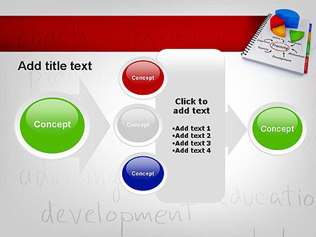 Training Plan with Pie Chart PowerPoint Template Slide 17