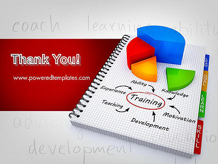 Training Plan with Pie Chart PowerPoint Template Slide 20
