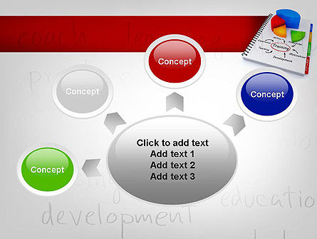 Training Plan with Pie Chart PowerPoint Template Slide 7