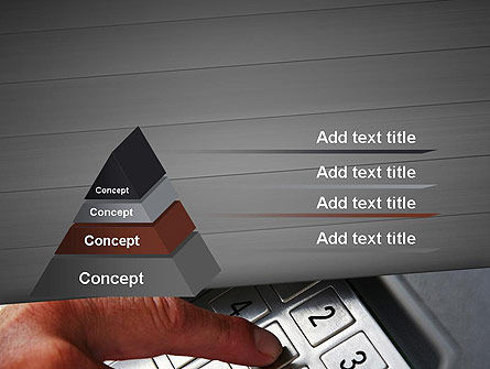 ATM Keypad PowerPoint Template, Slide 4, 11690, Technology and Science — PoweredTemplate.com