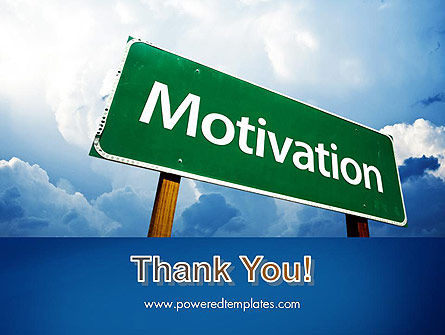 Motivation Sign PowerPoint Template Slide 20