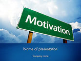 Education & Training: Motivation Sign PowerPoint Template #11691