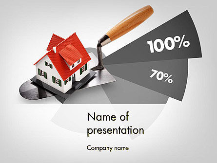Home Report PowerPoint Template, 11692, Real Estate — PoweredTemplate.com