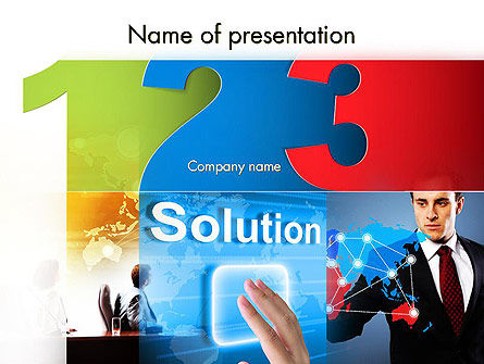 Web Technologies PowerPoint Template
