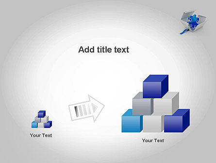 Puzzle Piece in a Box PowerPoint Template Slide 13