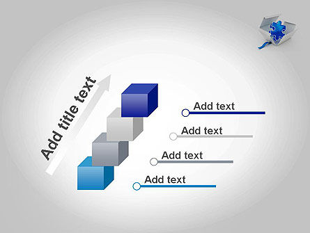 Puzzle Piece in a Box PowerPoint Template Slide 14