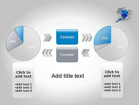 Puzzle Piece in a Box PowerPoint Template Slide 16