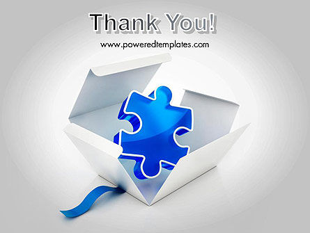 Puzzle Piece in a Box PowerPoint Template Slide 20