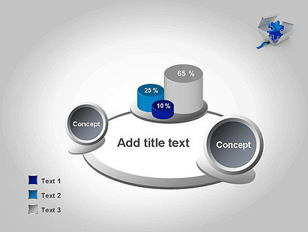Puzzle Piece in a Box PowerPoint Template Slide 6
