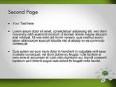Start SEO Campaign Button PowerPoint Template#2