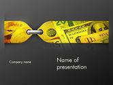 Financial/Accounting: Modelo do PowerPoint - finanças amarradas #11698
