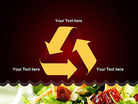 Fresh Salad PowerPoint Template Slide 10