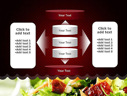 Fresh Salad PowerPoint Template Slide 13