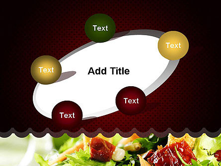 Fresh Salad PowerPoint Template Slide 14