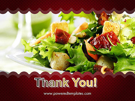 Fresh Salad PowerPoint Template Slide 20