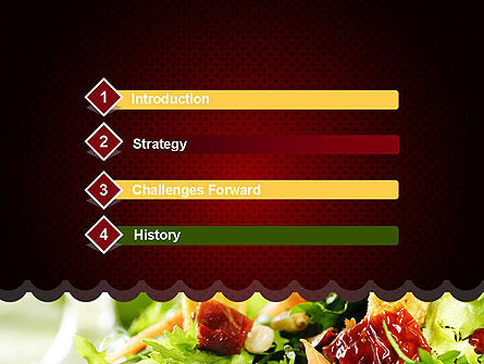 Fresh Salad PowerPoint Template Slide 3