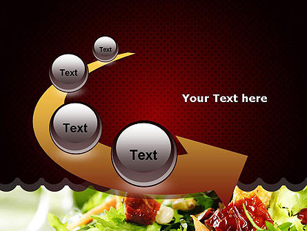 Fresh Salad PowerPoint Template Slide 6