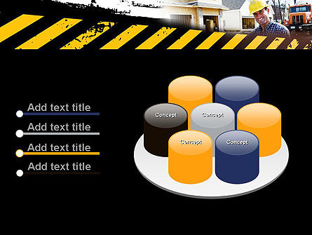Smiling Builder PowerPoint Template Slide 12