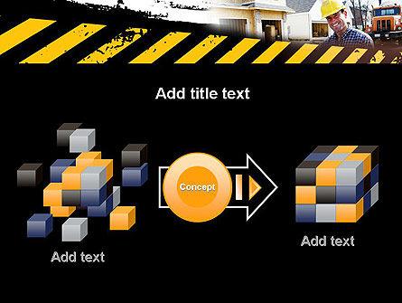 Smiling Builder PowerPoint Template Slide 17