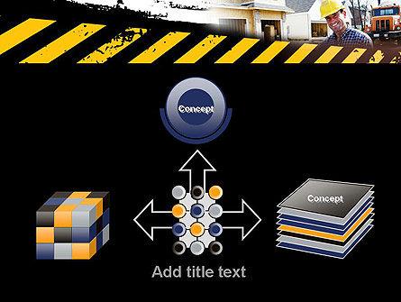 Smiling Builder PowerPoint Template Slide 19