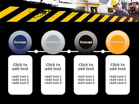 Smiling Builder PowerPoint Template Slide 5