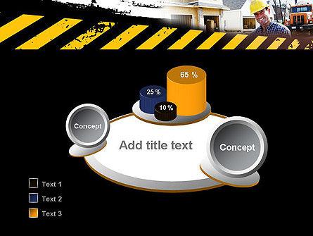 Smiling Builder PowerPoint Template Slide 6