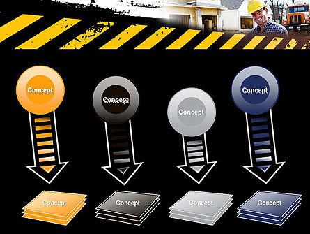 Smiling Builder PowerPoint Template Slide 8