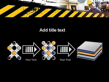 Smiling Builder PowerPoint Template Slide 9